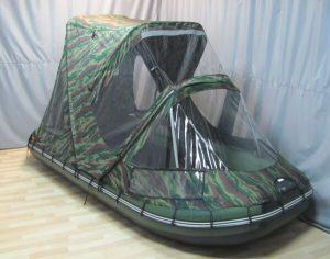 Тент-комби на лодку Ривьера 3800 НДНД